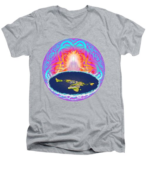 Yhwh Creation Men's V-Neck T-Shirt by Hidden Mountain