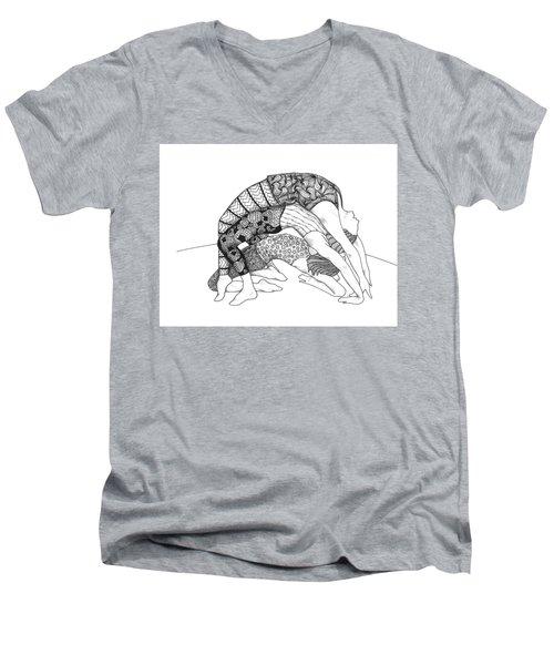 Yoga Sandwich Men's V-Neck T-Shirt