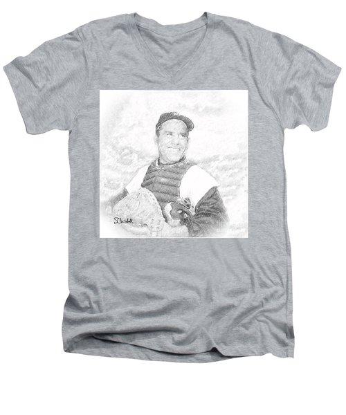 Yogi Berra Men's V-Neck T-Shirt