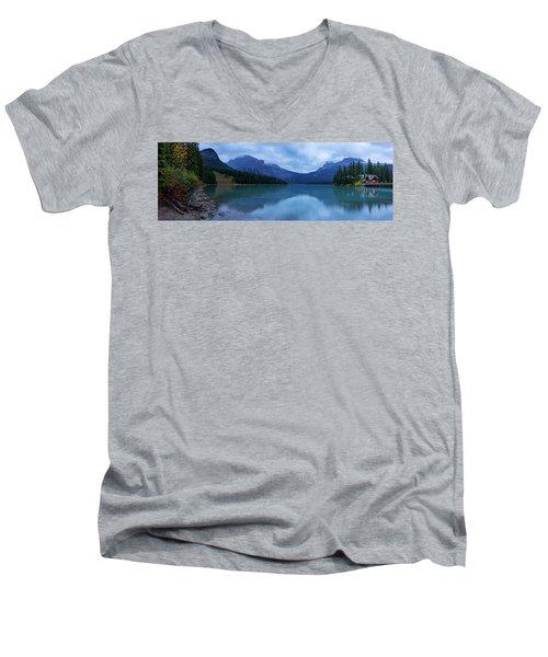 Men's V-Neck T-Shirt featuring the photograph Yoho by Chad Dutson