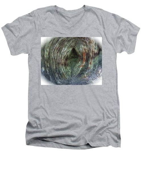 Yoni Au Naturel Une Men's V-Neck T-Shirt