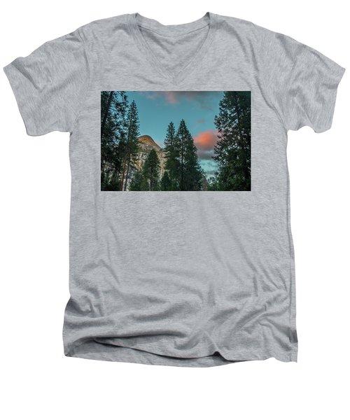 Yosemite Campside Evening Men's V-Neck T-Shirt