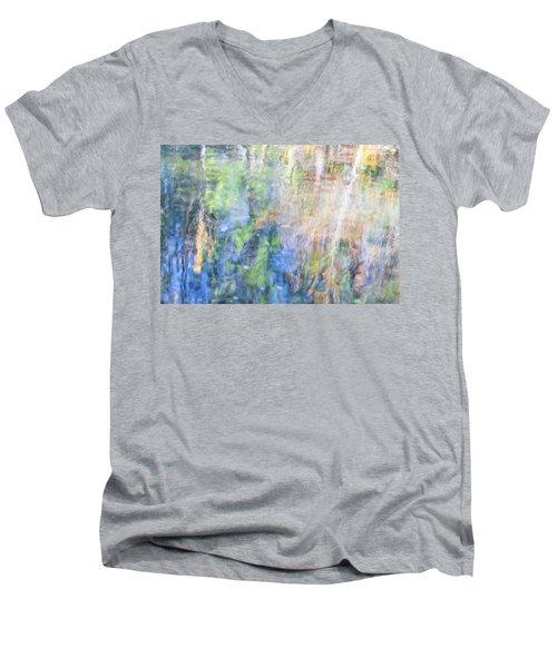 Yosemite Reflections 4 Men's V-Neck T-Shirt