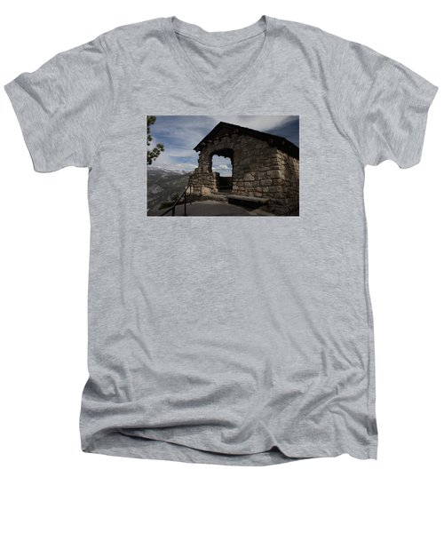 Yosemite Refuge Men's V-Neck T-Shirt by Ivete Basso Photography