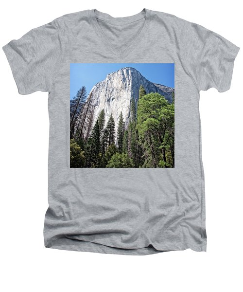 Captain Men's V-Neck T-Shirt by Ryan Weddle