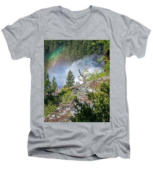 Stroll Passed Nevada Men's V-Neck T-Shirt