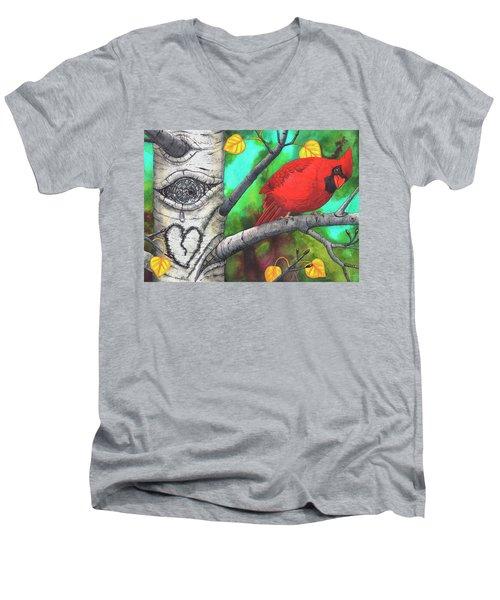 You, Ok? Men's V-Neck T-Shirt
