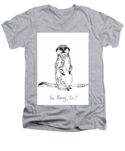 You Rang, Sir? Men's V-Neck T-Shirt