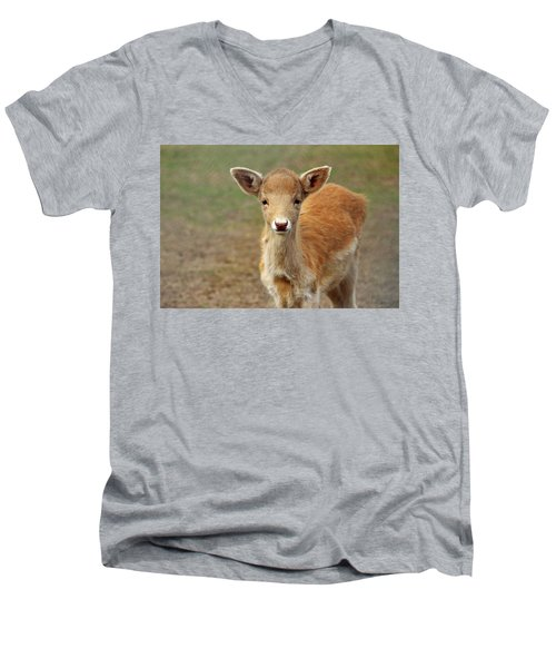 Young And Sweet Men's V-Neck T-Shirt