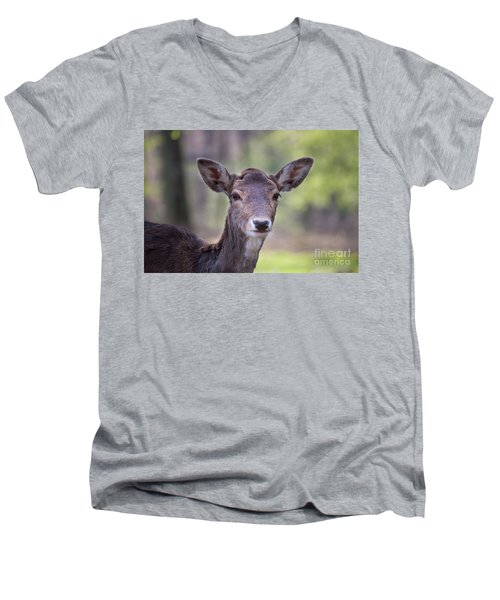 Young Deer Men's V-Neck T-Shirt