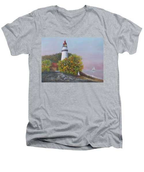 Young Sailor Men's V-Neck T-Shirt