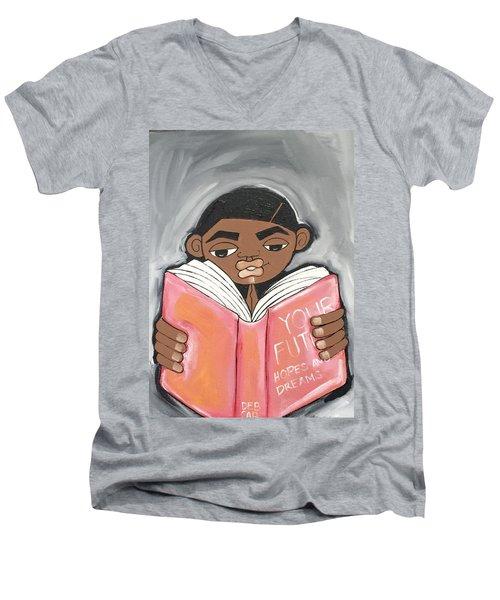 Your Future Boy Men's V-Neck T-Shirt