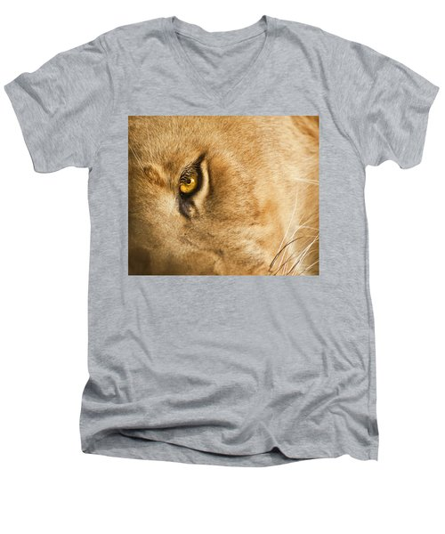 Your Lion Eye Men's V-Neck T-Shirt