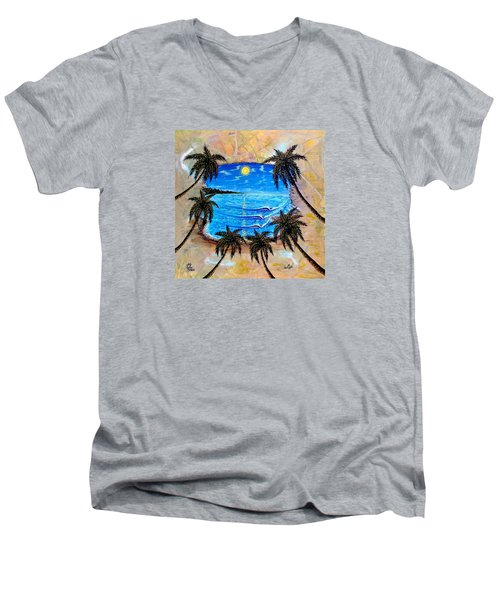 Your Vision Men's V-Neck T-Shirt