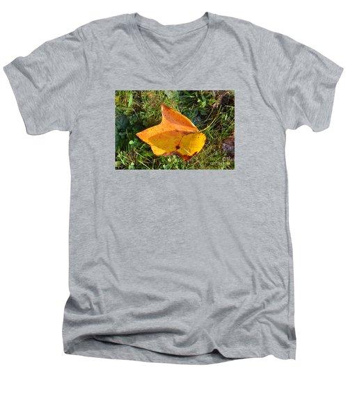 You're Always Leafing Me Men's V-Neck T-Shirt
