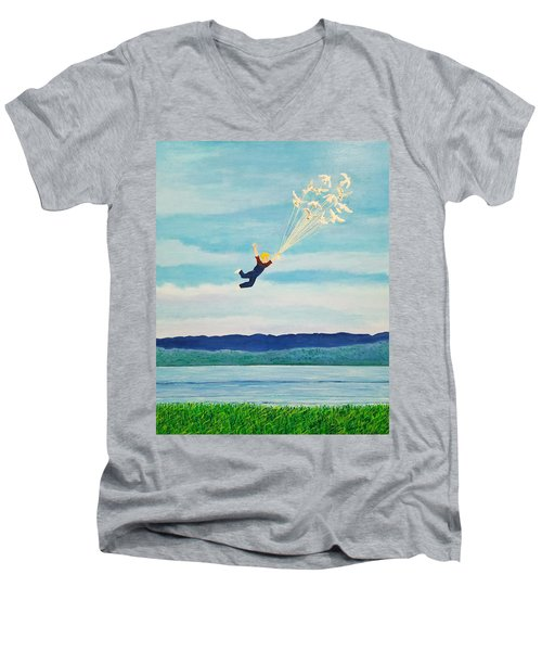 Youth Is Fleeting Men's V-Neck T-Shirt