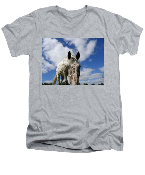 You've Been Spotted Men's V-Neck T-Shirt