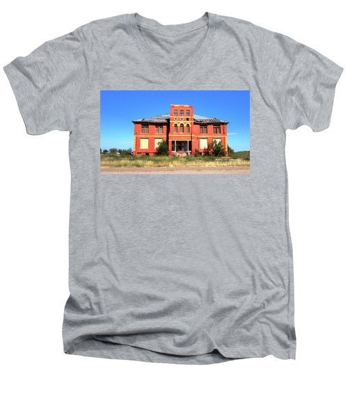 Yoyah School House Men's V-Neck T-Shirt