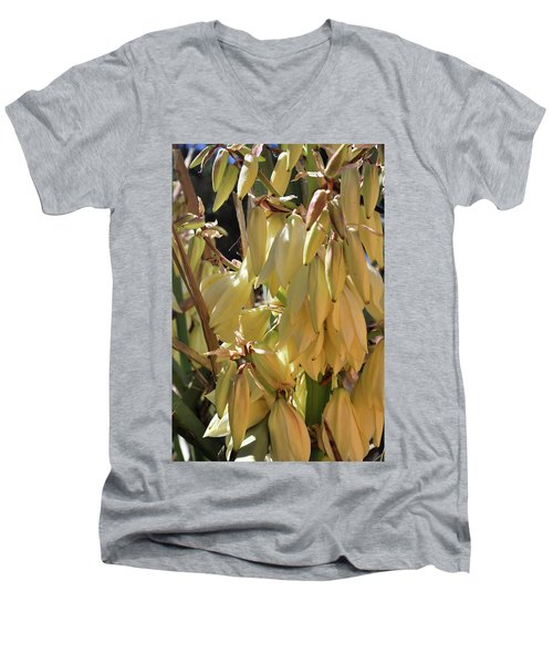 Yucca Bloom II Men's V-Neck T-Shirt