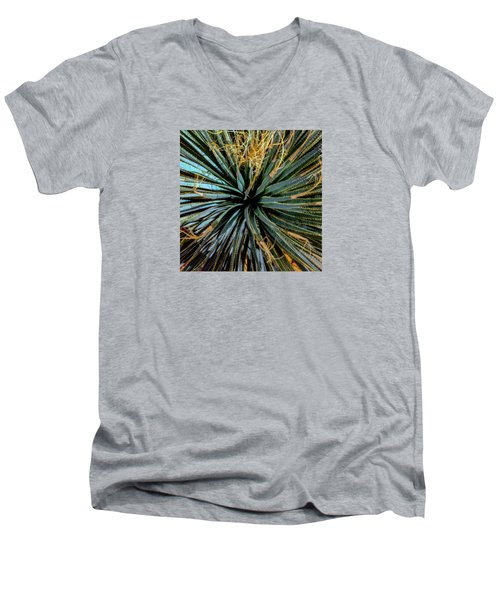 Yucca Yucca Men's V-Neck T-Shirt by Stan  Magnan