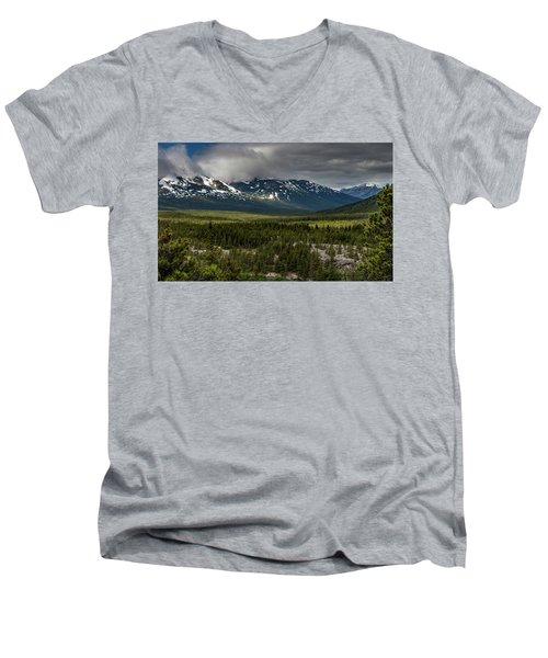 Yukon Wilderness Men's V-Neck T-Shirt