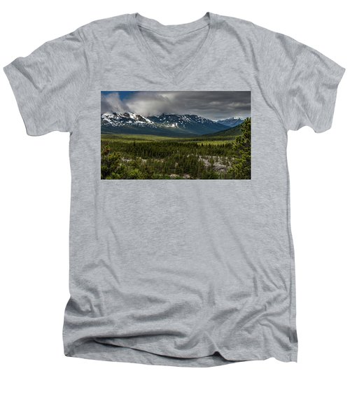 Yukon Wilderness Men's V-Neck T-Shirt