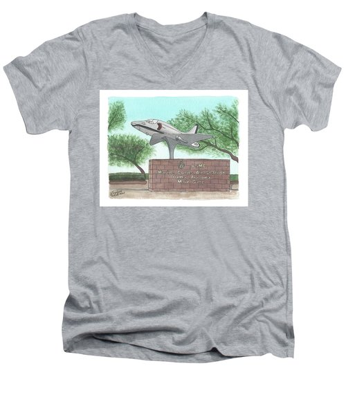 Yuma Welcome Men's V-Neck T-Shirt