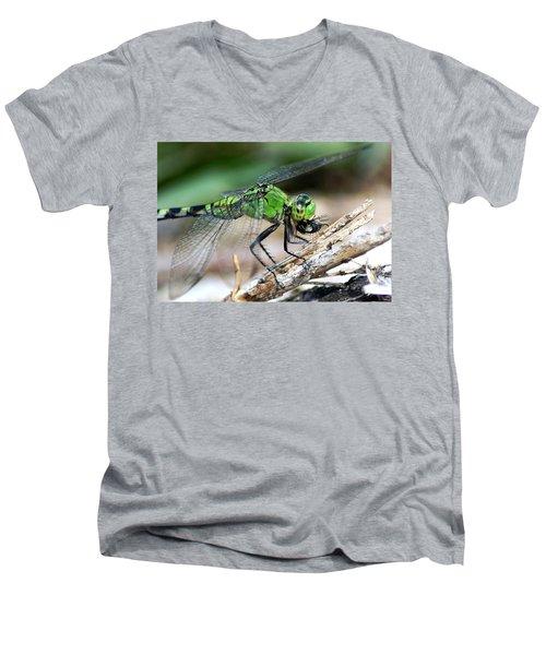 Yummy Men's V-Neck T-Shirt by Thomas Bomstad