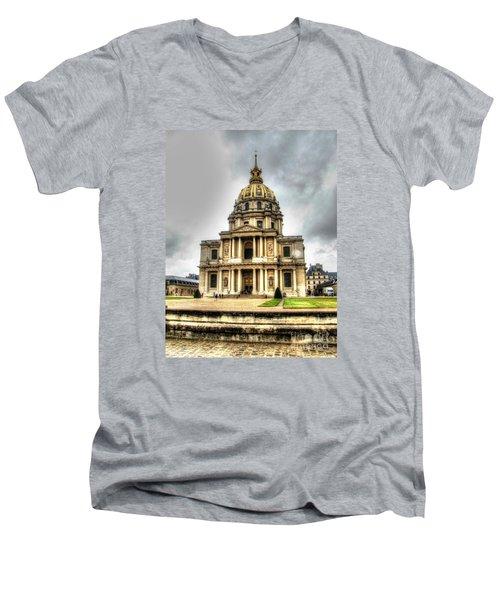 Yury Bashkin Nice Place Men's V-Neck T-Shirt