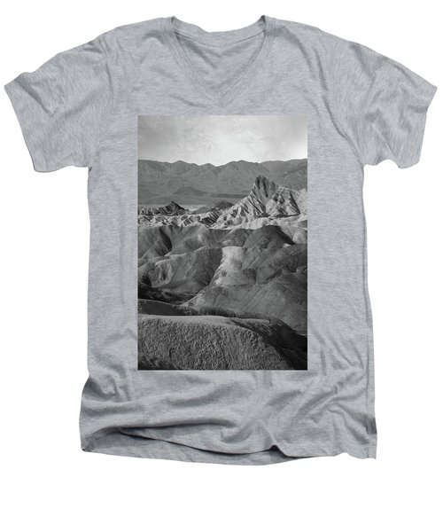 Zabriskie Point Portrait Men's V-Neck T-Shirt