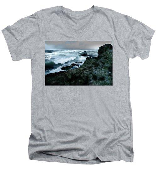 Zamas Beach #5 Men's V-Neck T-Shirt