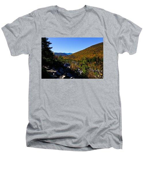 Zealand Notch Men's V-Neck T-Shirt