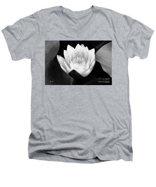 Waterlily Rising Men's V-Neck T-Shirt