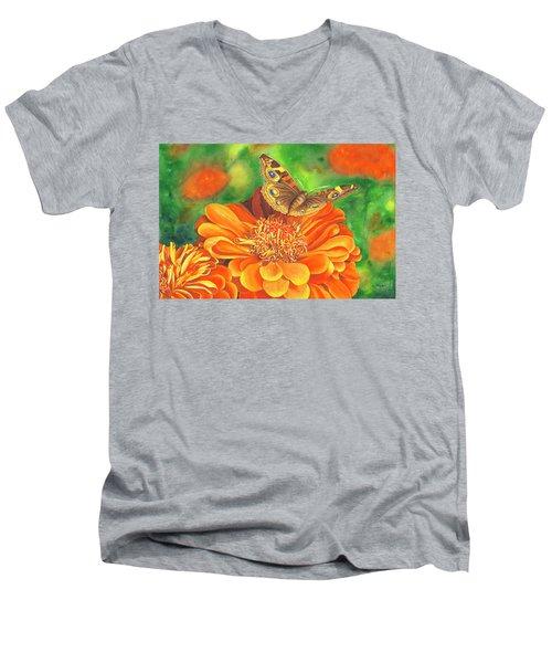 Zinnia Runway Men's V-Neck T-Shirt