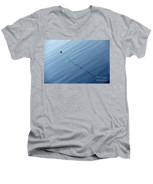 Zip Men's V-Neck T-Shirt