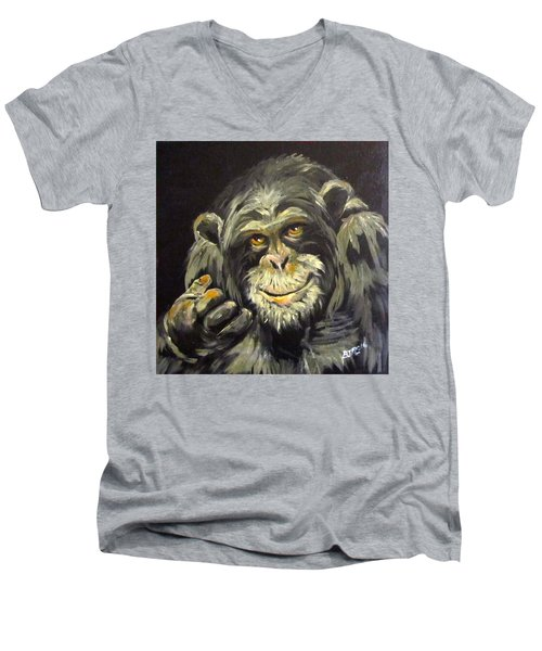 Zippy Men's V-Neck T-Shirt