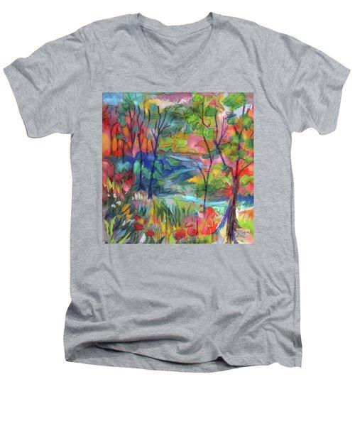Bright Country Men's V-Neck T-Shirt