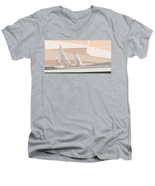 C-class Yachts  Men's V-Neck T-Shirt