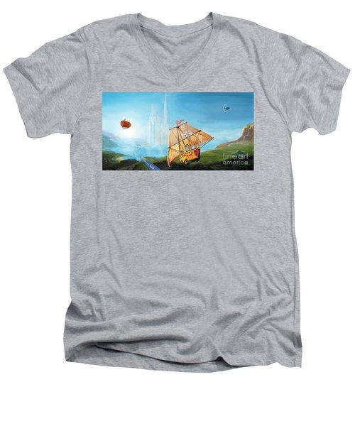 City On The Sea Men's V-Neck T-Shirt
