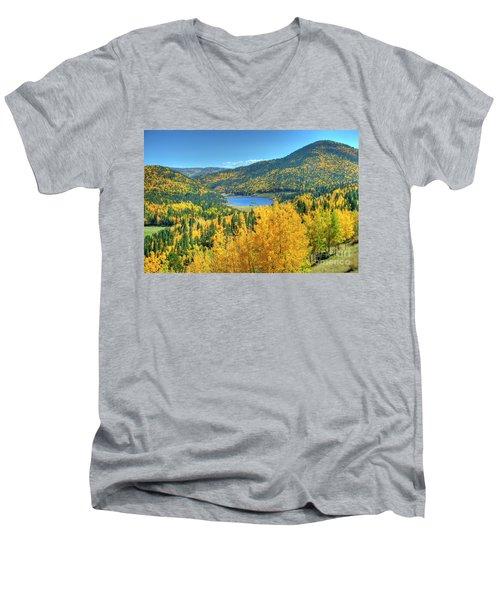 Colorado Gold Men's V-Neck T-Shirt