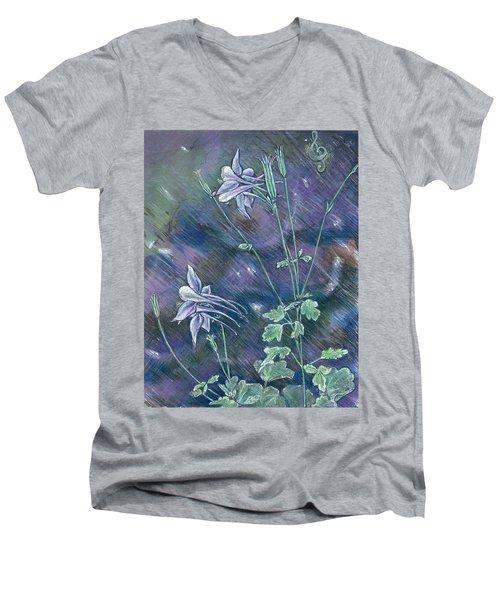 Columbine Song Men's V-Neck T-Shirt