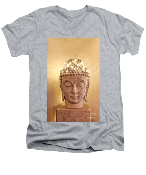 Dawn Buddha Men's V-Neck T-Shirt