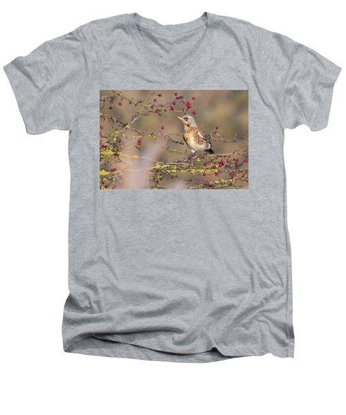 Fieldfare Men's V-Neck T-Shirt