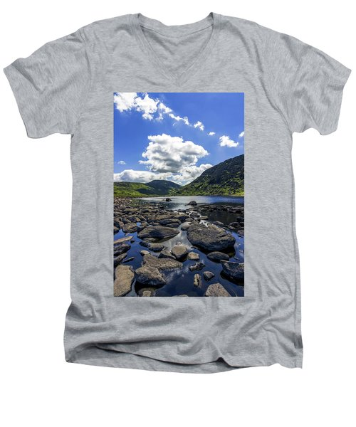 Llyn Eigiau Men's V-Neck T-Shirt