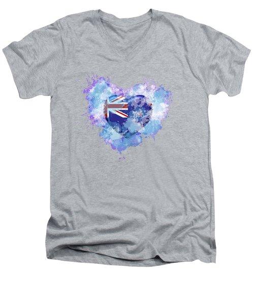 Love New Zealand Men's V-Neck T-Shirt