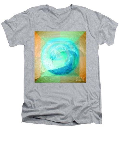 Ocean Earth Men's V-Neck T-Shirt