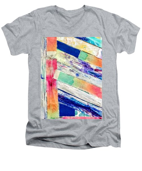 Out Of Site, Out Of Mind Men's V-Neck T-Shirt