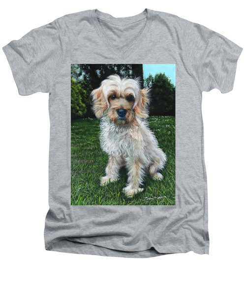 Portrait Of Toffee Men's V-Neck T-Shirt