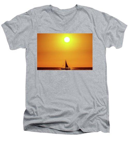 Sail Away Men's V-Neck T-Shirt
