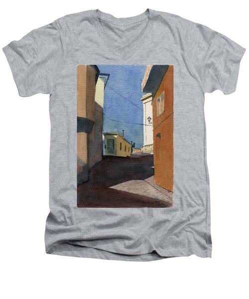 Sersale Street Men's V-Neck T-Shirt